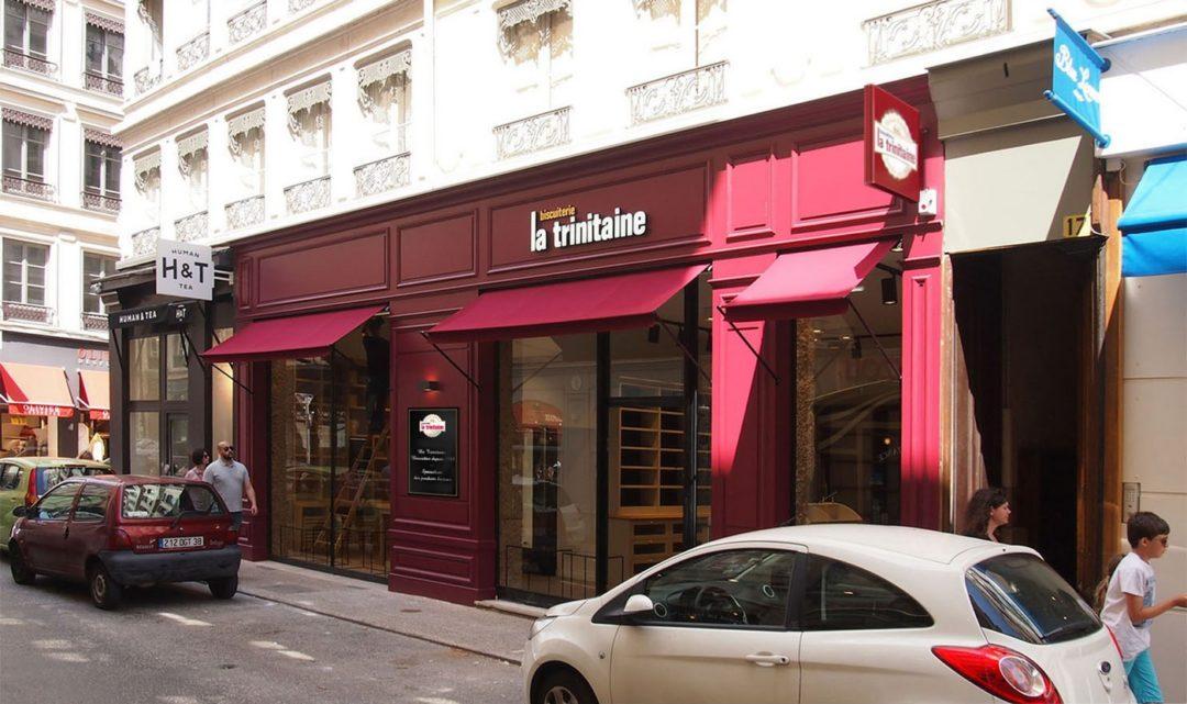réamenagement magasin La Trinitaire à Lyon